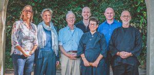 Enkele van de Lotus Zen Centra leraren bijeen
